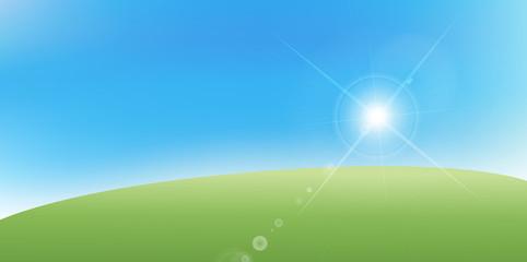 空 太陽 風景 背景