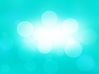Abstract blue background .light bokeh effect