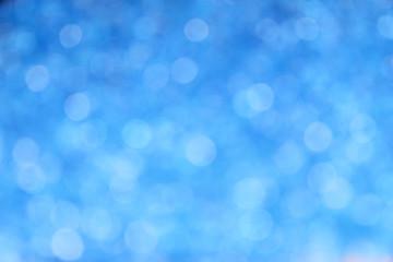 Bokeh blau