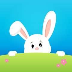 Image with lurking Easter bunny theme 2