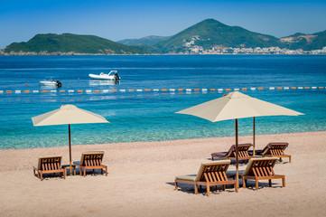Montenegro luxury sand beach