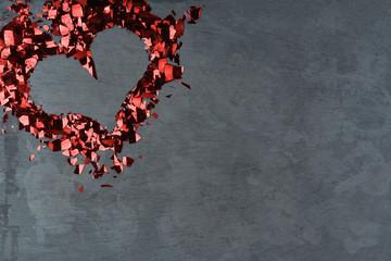 Valentinstagsgruß Mit Herz