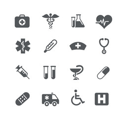 Medical Icons -- Utility Series