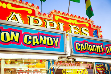 Carnival Concession Stand Signs