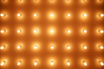 Theatre Lights Pattern Picture