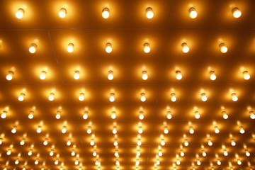 Theater Lights in Rows