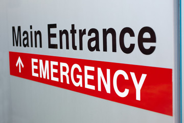 Hospital Emergency Sign Picture