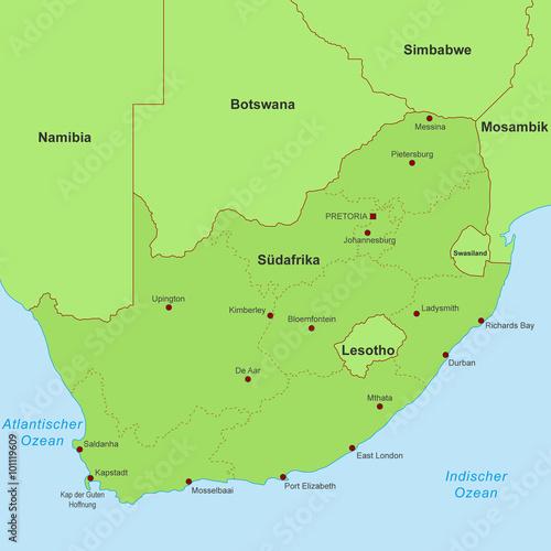 Südafrika Karte Pdf.Karte Von Südafrika Detailliert Stockfotos Und Lizenzfreie