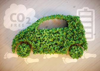Eco friendly car concept