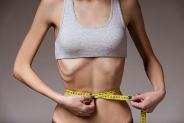 Very thin girl
