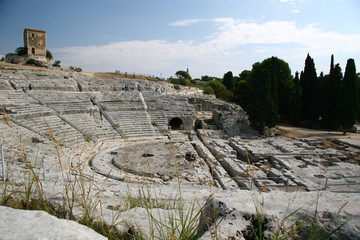 Teatro Greco - Griechisches Theater in Syrakus, Sizilien, Italien