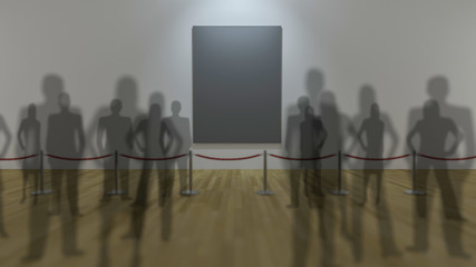 3d gallery display