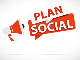 megaphone : plan social