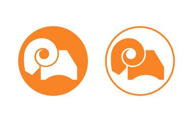 ram sheep logo