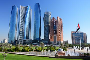 Skyscrapers of Abu-Dhabi