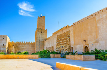 The Kasbah courtyard