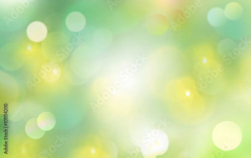 Wall mural Spring background blur