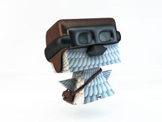 dove pigeon post carrier pilot bird character