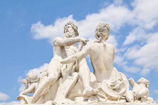 Zeus statue in Paris