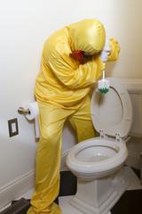 Hazardous household cleaning