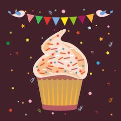 Cupcakes Pastry Shop Logo