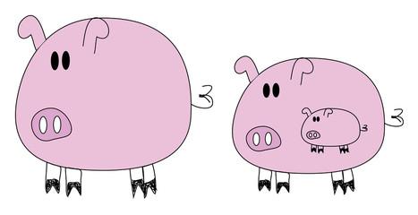tree pigs