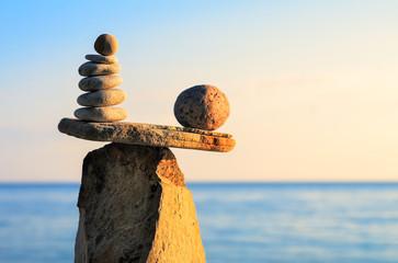 Weight of stones