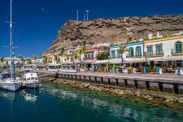 Hafenpromenade in Puerto de Mogán