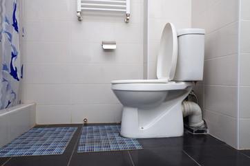 home restroom closeup