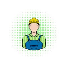 Worker comics icon