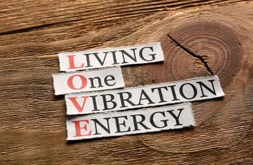 love acronym vibration