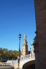 Seville is the artistic, cultural, and financial capital of southern Spain.Plaza de España, in Maria Luisa Park was built for the 1929 Exposición Ibero-Americana