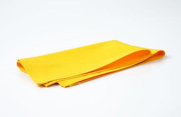 yellow place mat