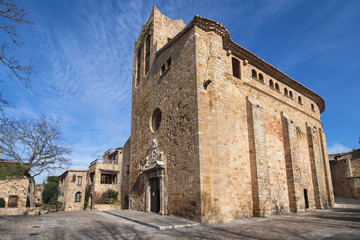 Church of Sant Pere in Pals