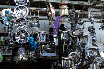 Gas lamps and cooker accessoires