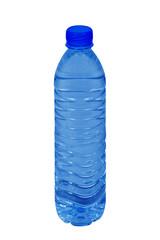Small plastic water bottle