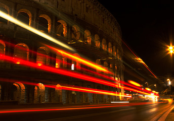 Traffico al Colosseo