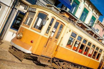 Porto Trolley used as tourist attraction.