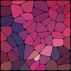 Abstract mosaic pattern consisting of geometric elements