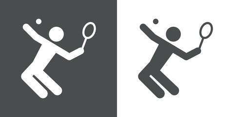 Icono plano tenista #1