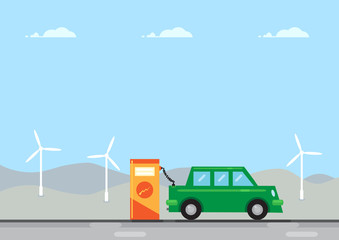 Electric Car Charge