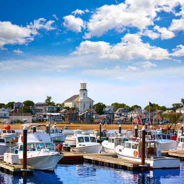 Cape Cod Provincetown port Massachusetts US