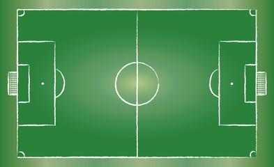Football field . vector