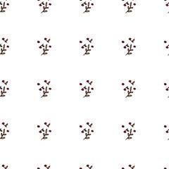 Seamless pattern natural