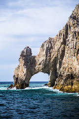 The Rock Formation of Land's End, Baja California Sur, Mexico, n