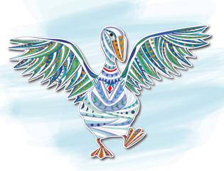 Duck,decorative picture