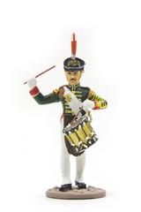 Батальонный барабанщик лейб-гвардии Семеновского полка, 1812 г