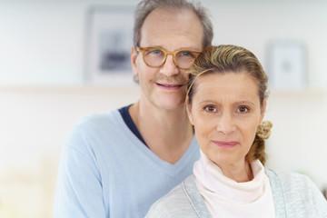 attraktives älteres ehepaar