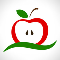 apple symbol vector