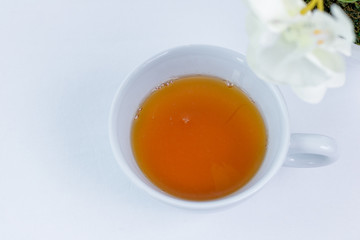 Tasse grunes Tee